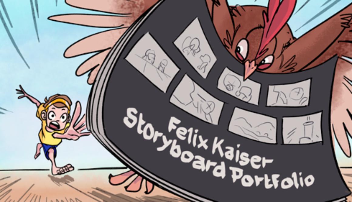 Storyboard Portfolio – Cover